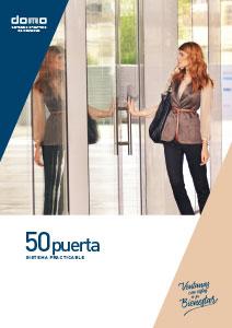 Catálogo comercial - DOMO 50 puerta