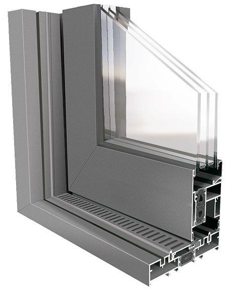 Sistema de ventana corredera elevable en aluminio Domo 160RT de INDALSU