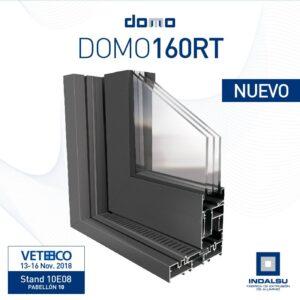 Sistema de ventana de aluminio DOMO 160RT